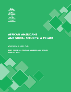 African Americans and Social Security: A Primer