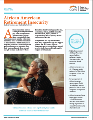 African American retirement insecurity