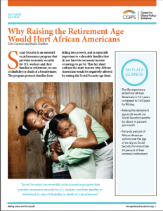 Retirement age cover